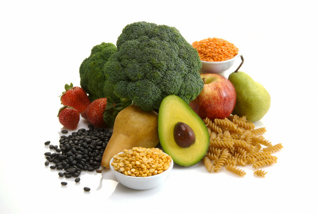 Assortment of High Fiber Foods
