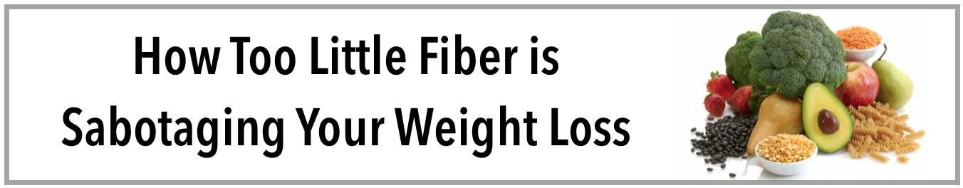 Fiber to Speed Weight Loss