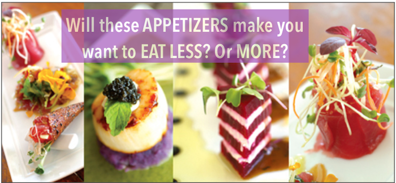 Weight Loss Motivation 2 appetizers