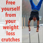 crutches weight loss motivation