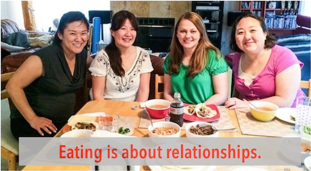 eating is about relationships